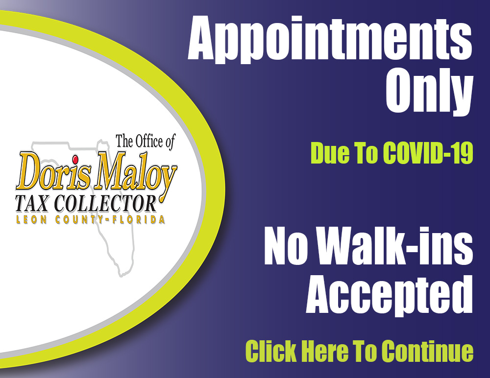 Appointments Only Announcement